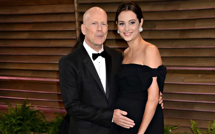 Bruce Willis And Emma Heaming