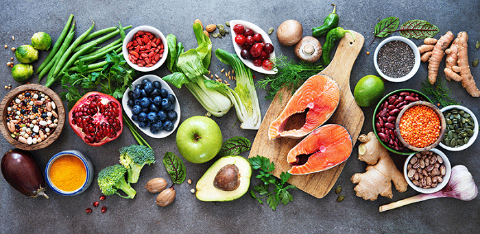 Select foods with fiber