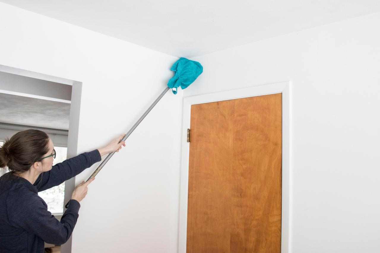 how to clean dust from house after remodel