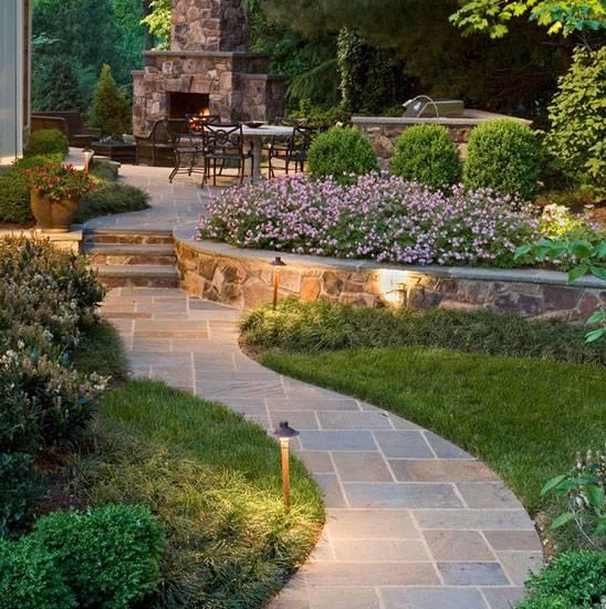 how to install garden ground lights
