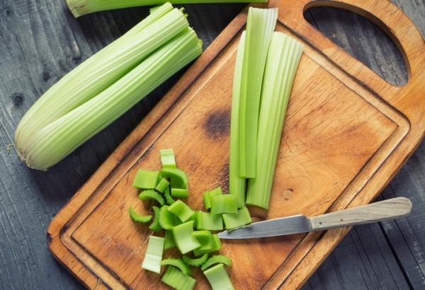 Can celery be frozen