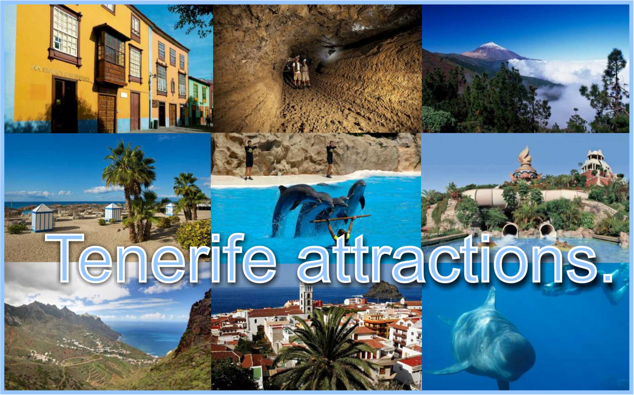 attractions in tenerife